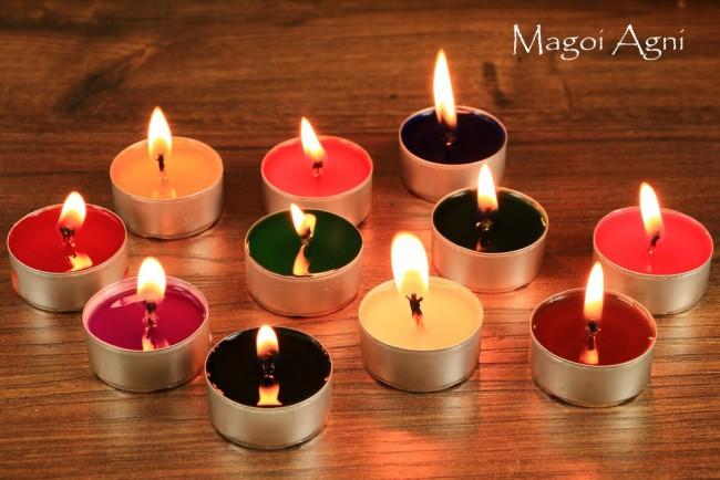 Świeczki tealight zapachowe naturalne