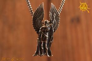 Archanioł Michał wisior srebro - chroni, uwalnia od złych mocy, dodaje motywacji