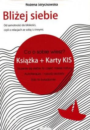 Bliżej siebie (książka + karty KIS) - Bożena Strychowska