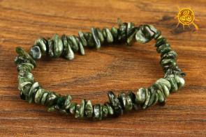 Serafinit bransoletka kamienie nieregularne - kontakt z aniołami i przewodnikami duchowymi, uaktywnienie trzeciego oka