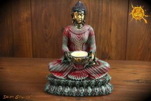 Budda świecznik