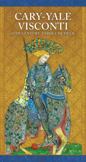 Cary-Yale Visconti 15th Century Tarocchi Deck. Karty Tarota.