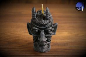 Czarna Świeca Diabelska diabeł - rytuał oczyszczenia pomieszczeń, oddala wampiry energetyczne