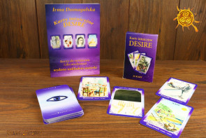 Książka i Karty intuicyjne Desire - Irena Domagalska - Nowa edycja