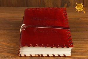 Notatnik skórzany Książka z Myślami - Księga Cieni, zeszyt do afirmacji