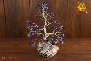 Drzewko szczęścia Sodalit 200 kamieni naturalnych - koncentracja, zapamiętywanie, intuicja, opanowanie emocji