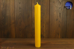 Świeca Gromnica Mała 27,5 cm wosk naturalny - chroni, oczyszcza, uzdrawia