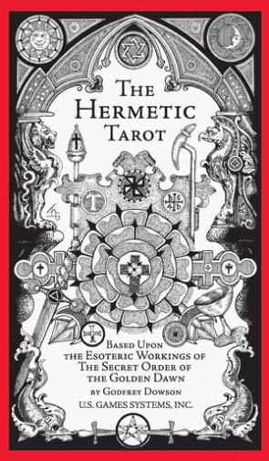 The Hermetic Tarot - Tarot Hermetyczny - karty Tarota