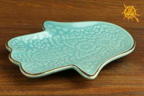 Podstawka Dłoń Fatimy ceramiczna