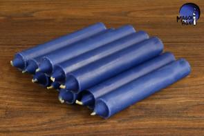 Indygo świeca KOMPLET 10 świec 10x1,8cm - pobudzi intuicję, zrównoważy karmę, uaktywni potencjał parapsychiczny