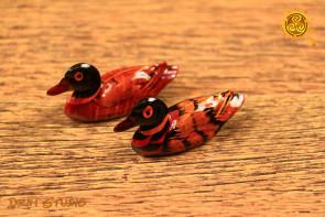 Kaczki mandarynki 6,5 cm - udane małżeństwo,  wierność