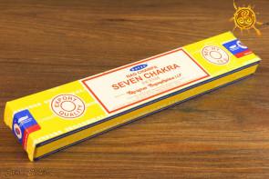 Kadzidełko Na Champa Seven chakra 7 czakr pyłkowe Satya -  oczyszcza przestrzeń, przywołuje pozytywne wibracje