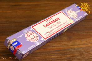 Kadzidełko Lavender pyłkowe Satya -  miłość, zrozumienie, spokój