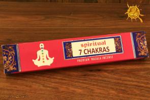 Kadzidełko CZAKRA Spiritual 7 CHAKRAS pyłkowe – wyrównanie energii w czakrach, medytacja