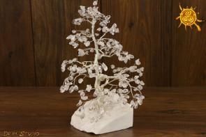 Drzewko szczęścia Kryształ Górski 200 kamieni naturalnych - odpromiennik, zdrowie, ochrona