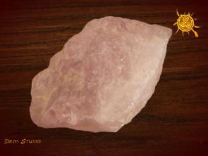 Kwarc Różowy naturalny 20-35g - kamień miłości i delikatności, odblokowuje czakrę serca