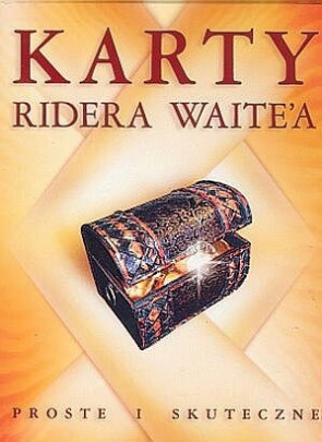 Karty Ridera Waite'a po polsku - proste i skuteczne + książka - karty Tarota