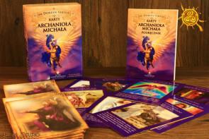 Karty Archanioła Michała + książka - karty anielskie Archanioł Michał