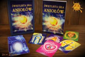 Świetlista Siła Aniołów - książka + karty Jeanne Ruland