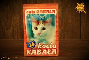 Kocia kabała - karty do gry i wróżb