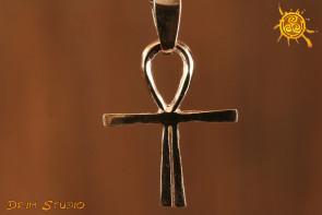 Krzyż Atlantydzki srebro 2,5 cm - energetyzator