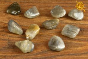 Labradoryt Spektrolit obrabiany 1-4g - kamień szczęścia, ochrony i koncentracji
