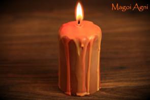 Świeca JESIENNA Święto MABON - 23 września Rytuał w Sabat Mabon - radość z życia