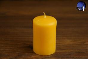 Żółta Świeca rozmiar XL - intelekt, optymizm, kreatywność, dobre finanse
