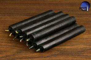 Czarna świeca KOMPLET 10 świec 9x1,2 -  chroni przed wampiryzmem energetycznym, oczyszcza, absorbuje