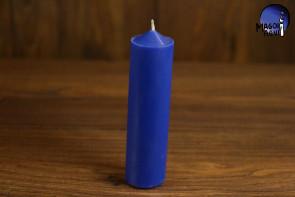 Niebieska Świeca rozmiar L - pozbycie się nałogów, wierność, harmonia w domu