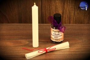 Rytuał oczyszczający z przekleństw pospolitych z olejkiem ochronnym Magoi Agni