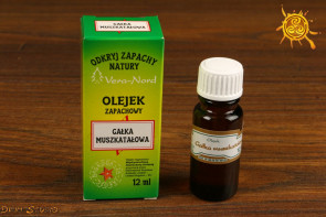 Olejek Vera Nord - Gałka Muszkatołowa 12ml