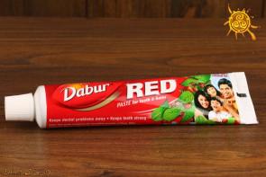 Pasta do zębów RED Dabur 100ml – wzmacnia zęby, odświeża oddech, zapobiega próchnicy