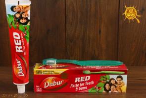 Pasta do zębów RED Dabur 200ml – wzmacnia zęby, odświeża oddech, zapobiega próchnicy