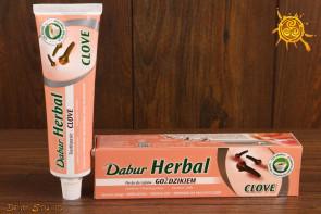 Pasta do zębów z goździkiem Dabur Herbal - wzmacnia zęby, chroni dziąsła, odpowiednia dla wrażliwych zębów