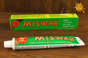 Pasta do zębów MISWAK Dabur - zwalcza bakterie w jamie ustnej, chroni dziąsła, wzmacnia zęby
