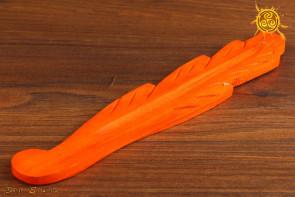 Podstawka pod kadzidełka drewniana pomarańczowa