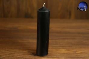 Czarna Świeca rozmiar L - zwalnia blokady i robi porządek w zastałych sytuacjach, cofa i unieważnia, odpycha wpływy czarnej magii