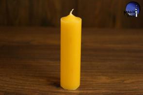 Żółta Świeca rozmiar L - intelekt, optymizm, kreatywność, dobre finanse