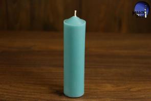 Błękitna Świeca rozmiar L - przywołanie spokoju, pozbycie się nałogów, wierność, dobry sen