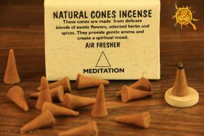 Kadzidełko stożkowe Meditation cones 25szt. - Medytacyjne