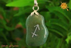 Agat wisiorek znak zodiaku STRZELEC - talizman, amulet dla Strzelca 23.10 – 21.11