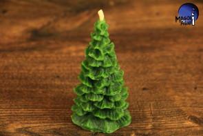 Zielona Świeca Choinka - poprawa nastroju, ciepło relacji biesiadników