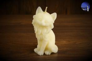 Biała Świeca Kot - ciąża, płodność, spełnienie życzeń