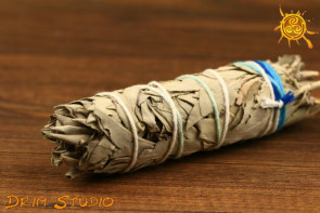 Biała Szałwia pęczek 70-90g - oczyszcza, odgania złe moce, chroni, przyciąga dostatek
