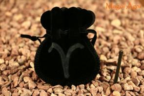 Woreczek amulet talizman ZNAK ZODIAKU BARAN - ochrona, sukces, pieniądze, zdrowie