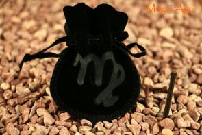 Woreczek amulet talizman ZNAK ZODIAKU PANNA  - ochrona, sukces, pieniądze, zdrowie