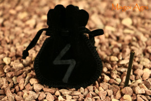 Woreczek amulet talizman NA ODWAGĘ - dodanie sobie odwagi