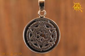 Talizman Aniołów, Pieczęć Siedmiu Archaniołów - srebrny - najpotężniejszy na świecie - przynosi szczęście właścicielowi w zaskakujący sposób