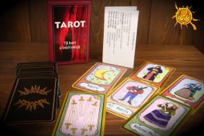 Tarot 78 kart - karty tarota